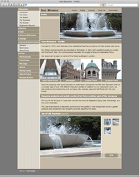 Kent Balusters website screen shot